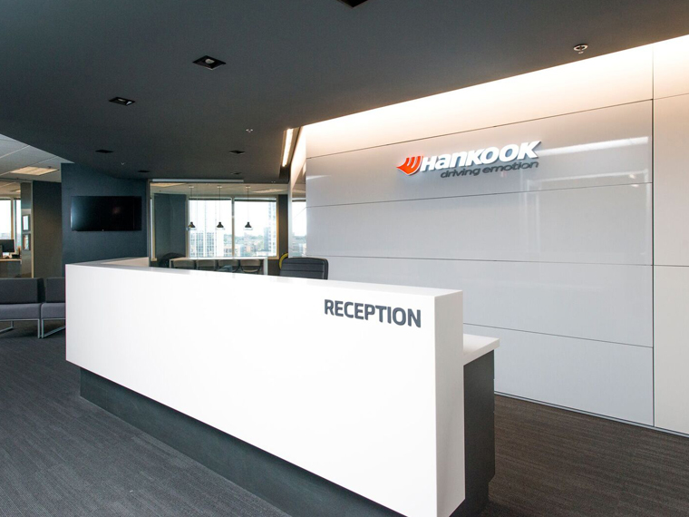 Building Hankook Tires HQ w/ DIRTT